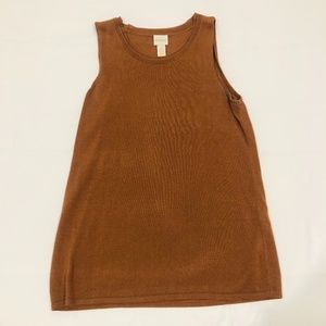 Chico's Two-Piece  Brown Tank Top & Duster